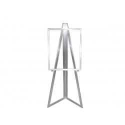 Expositor de aluminio para carteles *Medidas: Altura total:152cm Medida del cartel:72.50x57cm