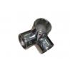 Conector de tubo 25mm con 3 salidas simple