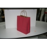 Bolsa en color rojo craft 23x32x12cm