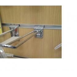 Gancho Doble para Panel de Lama de 20cm