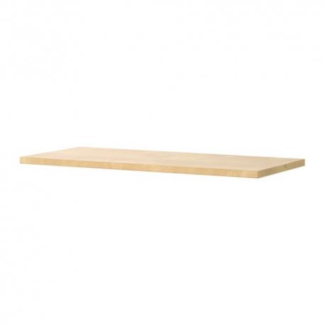 Balda de madera 120x35cm color haya for Color haya madera