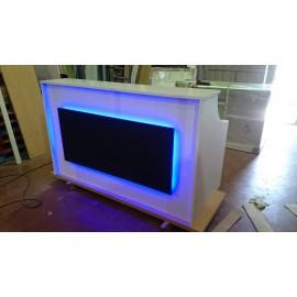Recepcion 180x80x110cm con Iluminacion Led