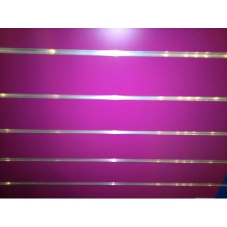 Panel de lamas fucsia medidas 1.20x1.20 con perfiles de aluminio incluidos
