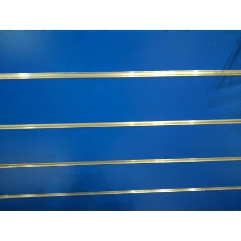 Panel de lama color azul Oscuro medidas 1.20x1.20 con perfiles de aluminio incluidos