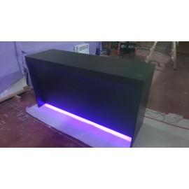 Mostrador 150x50x100cm, con iluminacion Led