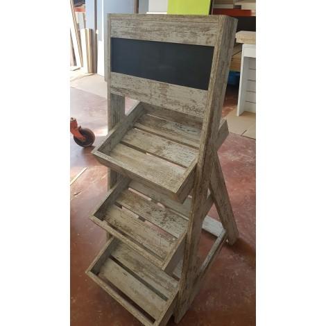 Mueble expositor 60x120x60cm